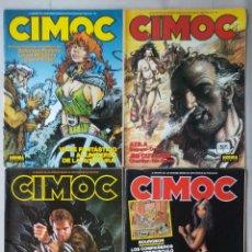 Cómics: CIMOC - LOTE (A) DE 4 NÚMEROS - PJRB. Lote 213342581