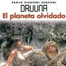Cómics: DRUUNA EL PLANETA OLVIDADO (PAOLO ELEUTERI SERPIERI) NORMA - IMPECABLE - OFM15. Lote 213365741