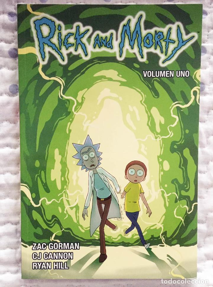 RICK Y MORTY 1, DE ZAC GORMAN, CJ CANNON, Y RYAN HILL. NORMA EDITORIAL (Tebeos y Comics - Norma - Comic USA)