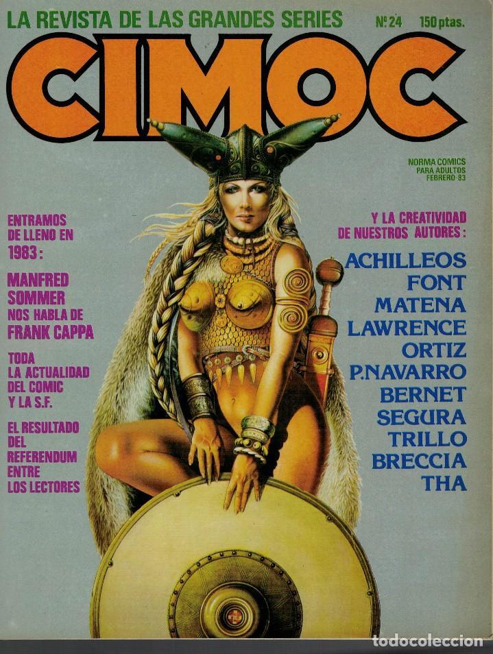 CIMOC Nº 24. FRANK CAPPA DE SOMMER. ACTUALIDAD DEL COMIC Y LA S. F. REFERENDUM ENTRE LECTORES (Tebeos y Comics - Norma - Cimoc)