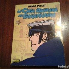Cómics: LA CASA DAURADA DE SAMARKANDA - HUGO PRATT - Nº 2 - CATALAN - NORMA EDITORIAL - PRIMERA EDICION 1992. Lote 213489862