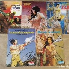 Comics : LOS PASAJEROS DEL VIENTO - NORMA EDITORIAL / SERIE COMPLETA DE 5 NÚMEROS (CIMOC EXTRA COLOR). Lote 213589066