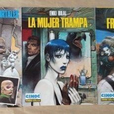 Comics : TRILOGÍA NIKOPOL - NORMA EDITORIAL / SERIE COMPLETA DE 3 NÚMEROS (CIMOC EXTRA COLOR). Lote 213640668