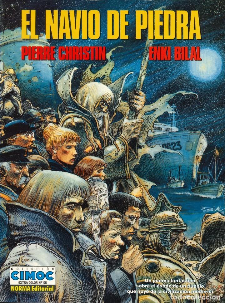 CIMOC EXTRA COLOR - NORMA / NÚMERO 105 (EL NAVÍO DE PIEDRA) (Tebeos y Comics - Norma - Cimoc)