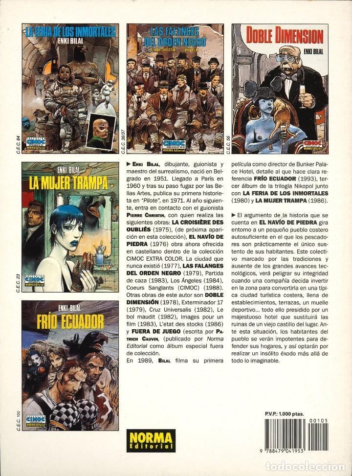 Cómics: CIMOC EXTRA COLOR - NORMA / NÚMERO 105 (EL NAVÍO DE PIEDRA) - Foto 2 - 213665276
