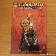 Comics: VERTIGO 63 EL SOLDADO DESCONOCIDO 2 GARTH ENNIS KILIAN PLUNKETT. NORMA. Lote 213765602