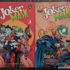 Comics: JOKER / MASK DE RAMON F.BACHS. SERIE LIMITADA DE 2 TOMOS. NORMA EDITORIAL 2001. Lote 213808467