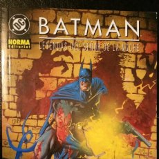 Cómics: BATMAN. INFECTADO. LEYENDAS SEÑOR DE LA NOCHE DE WARREN ELLIS. NORMA 2002. Lote 213815121