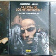 Fumetti: LA CASTA DE LOS METABARONES, LOTE DE 3 TOMOS, 6, 7 Y 8, JODOROWSKY/GIMENEZ, C9488. Lote 213896506