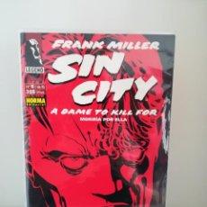 Cómics: SIN CITY - MORIRIA POR ELLA - NORMA EDITORIAL 1994 (FRANK MILLER) - NÚMERO 6 DE 6. Lote 213989380