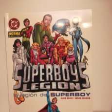 Cómics: SUPERBOYS LEGIÓN NORMA EDITORIAL - LEGIÓN DE SUPERHÉROES. Lote 214032961
