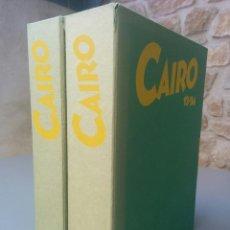 Cómics: LOTE REVISTA CÓMICS CAIRO 1 A 24 EN SUS 2 CAJAS-CONTENEDOR ORIGINALES - NORMA EDITORIAL. Lote 214069448