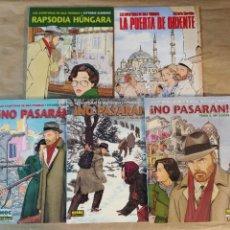 Cómics: LAS AVENTURAS DE MAX FRIDMAN - NORMA EDITORIAL / SERIE COMPLETA DE 5 NÚMEROS (CIMOC EXTRA COLOR). Lote 214086752