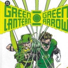 Fumetti: NEAL ADAMS. GREEN LANTERN - GREEN ARROW. OBRA COMPLETA. FORMATO ABSOLUTE PLANETA. TAPA DURA. Lote 214124658