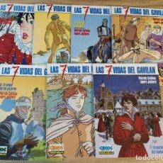 Cómics: LAS 7 VIDAS DEL GAVILÁN - NORMA EDITORIAL / SERIE COMPLETA DE 7 NÚMEROS (CIMOC EXTRA COLOR). Lote 214137752