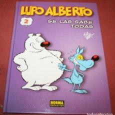 Cómics: LUPO ALBERTO - 2 SE LAS SABE TODAS - SILVER - NORMA - 2000. Lote 214151573