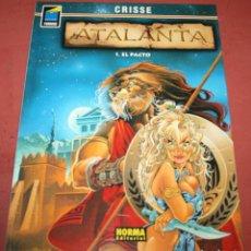 Cómics: ATALANTA - 1. EL PACTO - CRISSE - NORMA - 2001. Lote 214151867