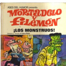 Cómics: MORTADELO Y FILEMON LOS MONSTRUOS ASES DEL HUMOR. Lote 214255881
