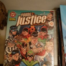 Comics: LOTE YOUNG JUSTICE NORMA 6 TOMOS. Lote 214389813