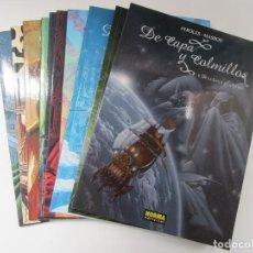 Cómics: CAPA Y COLMILLOS - COMPLETA 10 TOMOS - AYROLES Y MASBOU - NORMA - MUY BIEN. Lote 214513666
