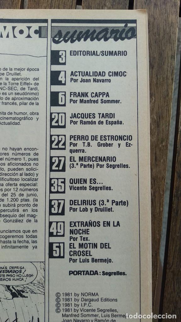 Cómics: FANTASIA CIMOC Nº 1 NORMA EDITORIAL 1981 - Foto 2 - 209882675