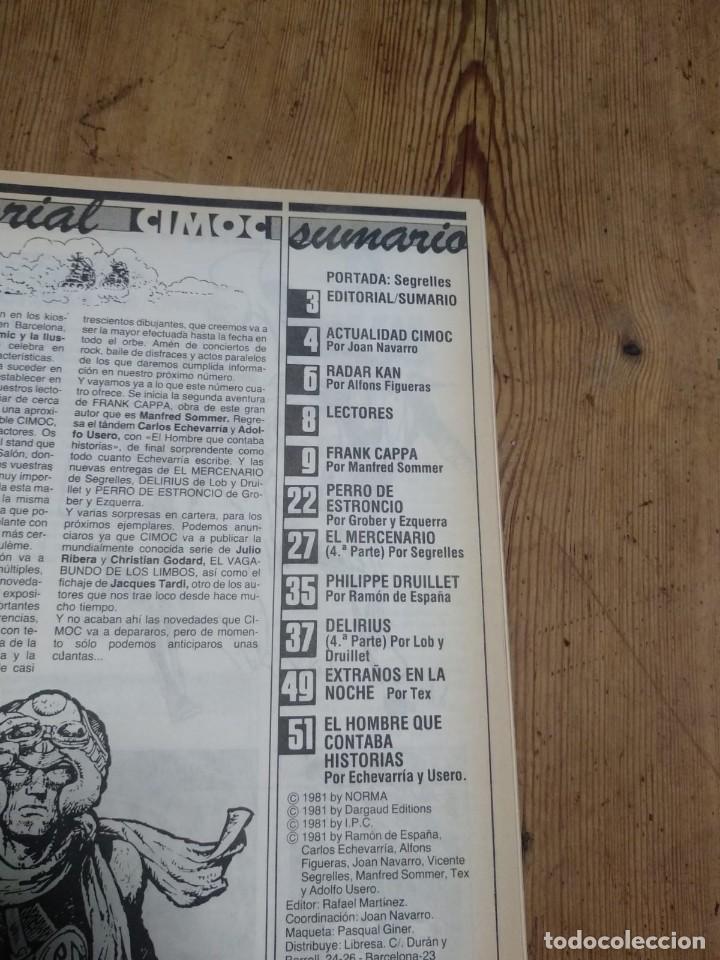Cómics: FANTASIA CIMOC Nº 1 NORMA EDITORIAL 1981 - Foto 4 - 209882675
