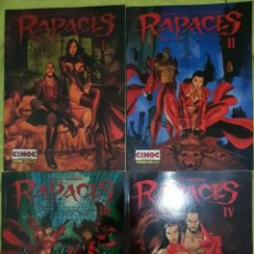 Cómics: RAPACES I A IV (DE V). DUFAUX / MARINI. NORMA EDITORIAL. Lote 214770177