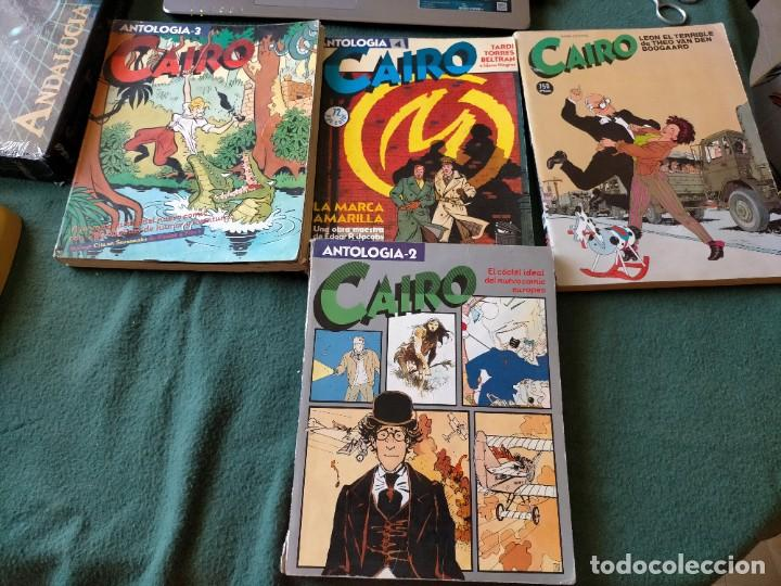 CAIRO. LOTE 4 TOMOS ANTOLOGIA NUM: 2 - 3 - 4 Y 15 NORMA EDITORIAL. (Tebeos y Comics - Norma - Cairo)