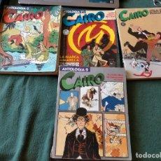 Cómics: CAIRO. LOTE 4 TOMOS ANTOLOGIA NUM: 2 - 3 - 4 Y 15 NORMA EDITORIAL.. Lote 215093148