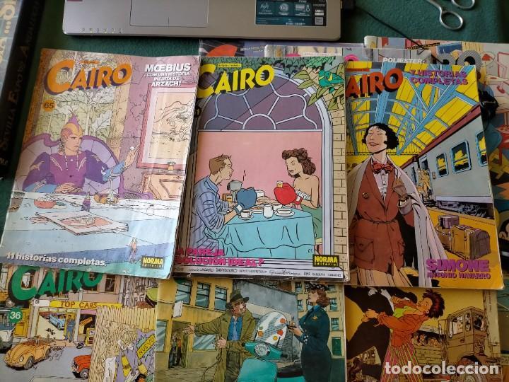 Cómics: CAIRO. NORMA EDITORIAL 11 REVISTAS PARA ADULTOS. NUM: 24-25-28-29-36-37-46-55-56-60-65. - Foto 3 - 215094180