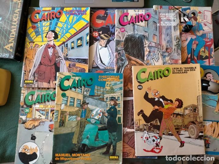 Cómics: CAIRO. NORMA EDITORIAL 11 REVISTAS PARA ADULTOS. NUM: 24-25-28-29-36-37-46-55-56-60-65. - Foto 2 - 215094180