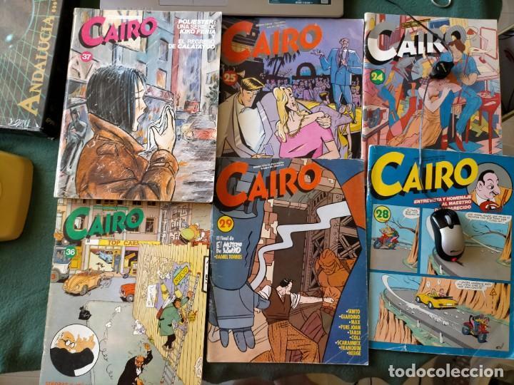 CAIRO. NORMA EDITORIAL 11 REVISTAS PARA ADULTOS. NUM: 24-25-28-29-36-37-46-55-56-60-65. (Tebeos y Comics - Norma - Cairo)