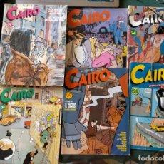 Cómics: CAIRO. NORMA EDITORIAL 11 REVISTAS PARA ADULTOS. NUM: 24-25-28-29-36-37-46-55-56-60-65.. Lote 215094180