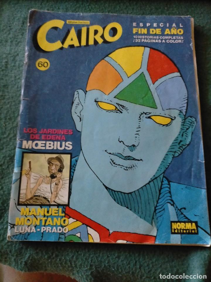 Cómics: CAIRO. NORMA EDITORIAL 11 REVISTAS PARA ADULTOS. NUM: 24-25-28-29-36-37-46-55-56-60-65. - Foto 4 - 215094180