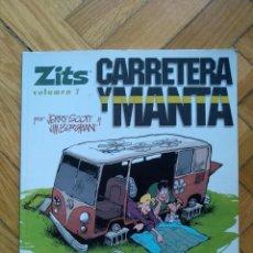 Cómics: ZITS VOLÚMEN 7: CARRETERA Y MANTA - D1. Lote 215136030