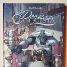Cómics: LA DANZA DE LA CONQUISTA, 2. EL ENCUENTRO - RAÚL TREVIÑO. Lote 244566885