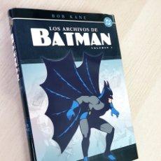 Cómics: EXCELENTE ESTADO LOS ARCHIVOS DE BATMAN VOLUMEN I TOMO NORMA VOLUMEN 1. Lote 215236372