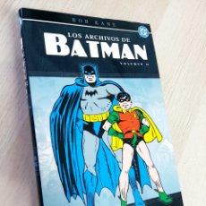 Cómics: DE KIOSCO LOS ARCHIVOS DE BATMAN VOLUMEN II TOMO NORMA VOLUMEN 2. Lote 215236533