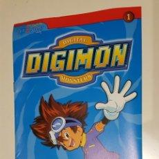 Cómics: DIGIMON - LAS GUÍAS DE DIBUS Nº 1 - AÑO 2000 - NORMA EDITORIAL. Lote 215398567