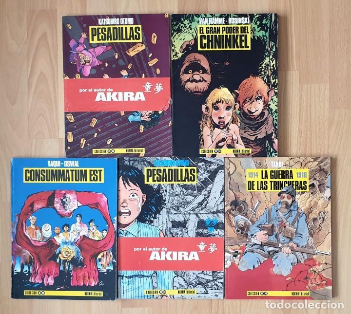 COLECCIÓN BN LOTE DE 6 TOMOS (15-17-18-19-21-22). NORMA EDITORIAL 1991 (Tebeos y Comics - Norma - Otros)