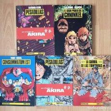 Cómics: COLECCIÓN BN LOTE DE 6 TOMOS (15-17-18-19-21-22). NORMA EDITORIAL 1991. Lote 171424904