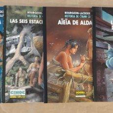 Comics : HISTORIA DE CYANN - NORMA EDITORIAL / SERIE DE 4 NÚMEROS (CIMOC EXTRA COLOR). Lote 215613562