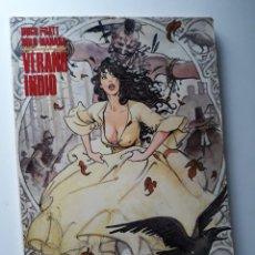 Comics: VERANO INDIO - PRATT / MANARA - COL. CIMOC EXTRA COLOR Nº 19-20-21. Lote 216356220