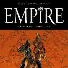 Comics : EMPIRE. INTEGRAL. TAPA DURA. FORMATO GRANDE. EDICION EN FRANCES DE DELCOURT. Lote 216373040