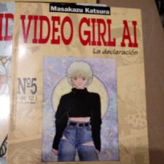 Cómics: VIDEO GIRL AI LA DECLARACION NUM 5 MASAKAZU KATSURA .NORMA.. Lote 216420157