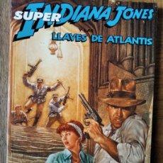 Comics: INDIANA JONES- COLECCION COMPLETA, LAS LLAVES DE ATLANTIS EN TOMO RETAPADO- POR DAN BARRY- NORMA EDI. Lote 216477276
