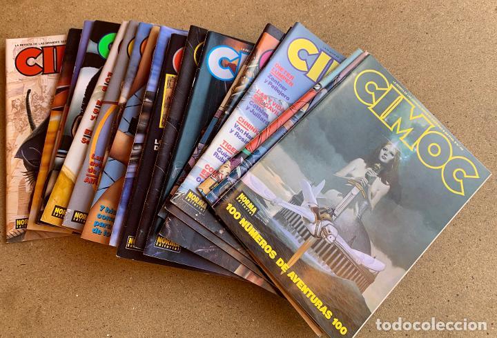 CIMOC . NORMA EDITORIAL . 26 NUMEROS . (Tebeos y Comics - Norma - Cimoc)