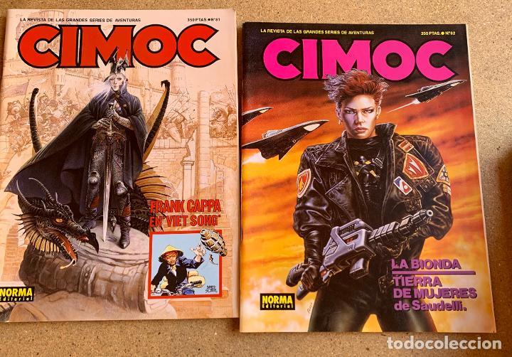 Cómics: CIMOC . NORMA EDITORIAL . 26 NUMEROS . - Foto 5 - 216509280