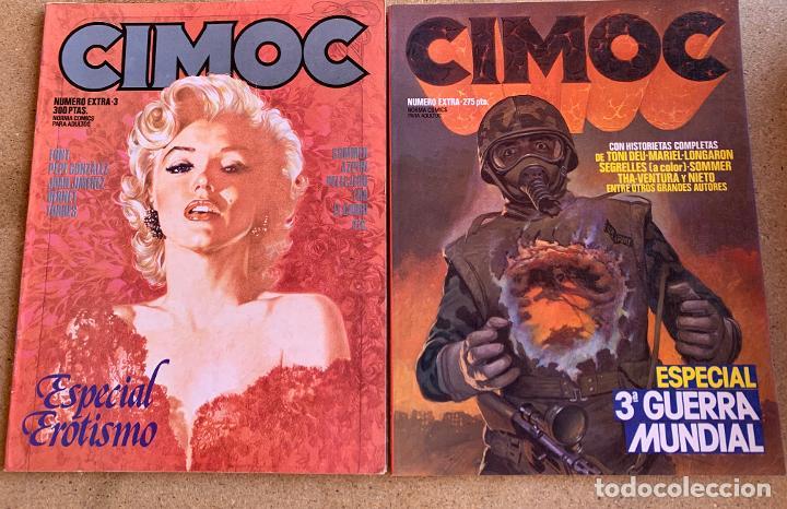 Cómics: CIMOC . NORMA EDITORIAL . 26 NUMEROS . - Foto 9 - 216509280