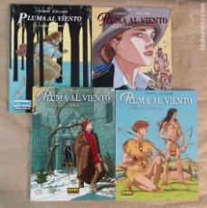 Comics: PLUMA AL VIENTO - NORMA EDITORIAL / SERIE DE 4 NÚMEROS (CIMOC EXTRA COLOR). Lote 216562696